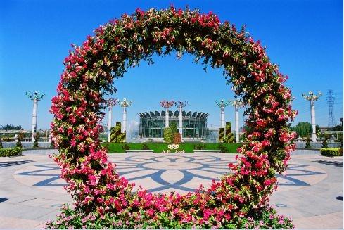 节日庆典花环